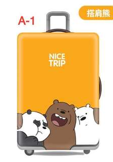Elastic travel luggage protector/cover (Bear collection)