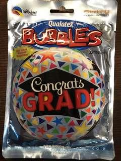 """24"""" Anagram Congrats Grad Bubbles Balloon"""