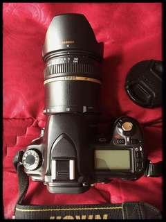 Nikon D80 + Tamron 18-200mm 1:3.5-5.6(IF) Macro