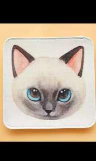 😼🐱🐺可愛貓貓頭坐墊🐾🐾