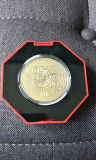 1996 $10 Cupro-Nickel Proof-like Coin