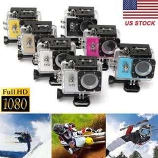 SJ4000 Full HD 1080P 12MP 30M Waterproof Sports Action Camera DV (white)