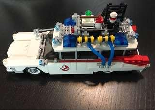 LEGO 21108 Ghostbusters Ecto-1 淨車仔已砌不連人仔實物如圖(順豐到付減10元)