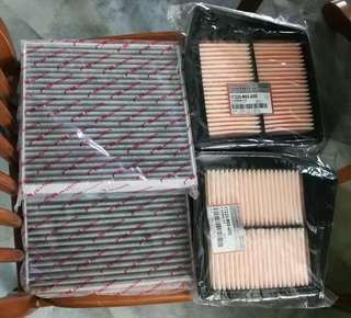 Honda Accord 2.0 (8th Gen) Air Filter and Cabin Filter