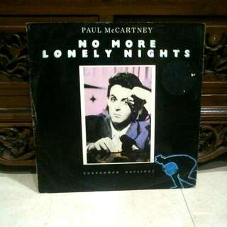 Ep 12inches Very Rare..Vinyl...Paul Mccartney - No More Lonely Night