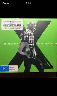 Brand new X Ed Sheeran Wembley edition