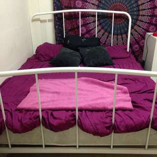Queen Bed Frame (Mattress Not Included)