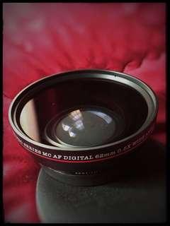 DSLR HD pro-series MC AF dgtl 62mm 0.5x wide angel