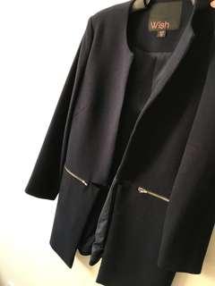 Wish Navy Jacket