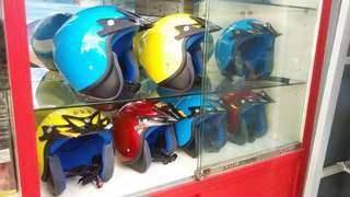 Kid'S helmet without visor approved by SIRIM