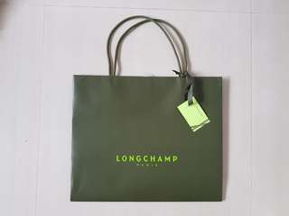 Longchamp Paper Bag