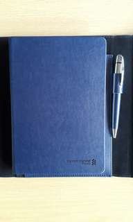 Standard Chartered Priority Banking notebook