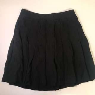 Talula Black Tennis Skirt