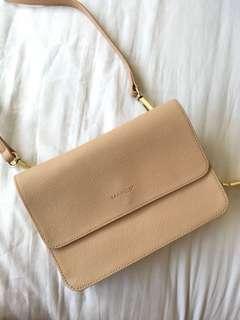 MARCS Nude Tex Leather 2 in 1 Bag