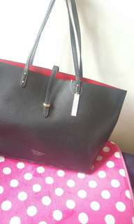 [From US] RUSH Victoria's Secret Red & Black Tote Bag