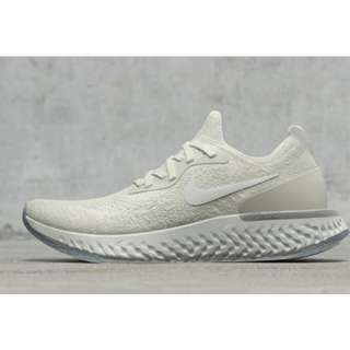 "英國代購 * Nike WMNS Epic React Flyknit ""Light Cream"""