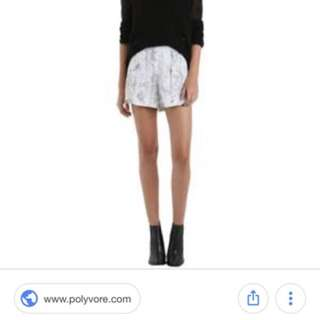 Zimmermann Marble Shorts Size 2