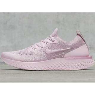 "英國代購 * Nike WMNS Epic React Flyknit ""Pearl Pink"""