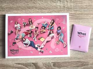 [Ready Stock] Twice - What is Love ver A