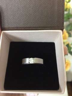 Bausch K. Stainless steel ring