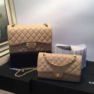 Chanel Flap Apricot colour