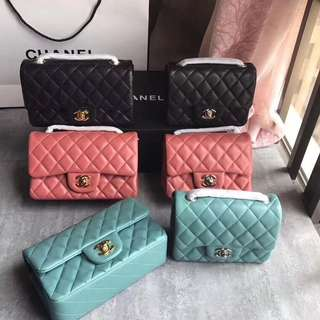 Chanel Flap Small and Mini Flap