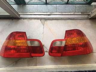 Rear lamp e46 sedan