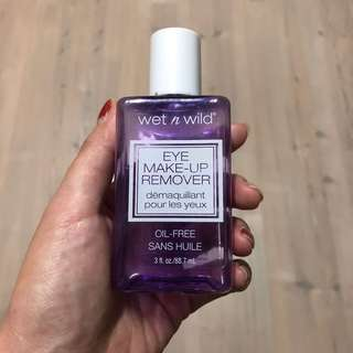 Wet n wild oil free makeup remover