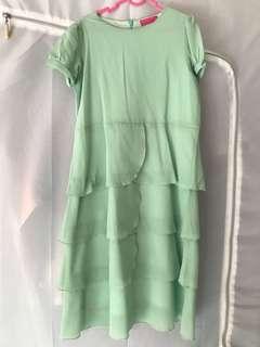Poplook Mint Green Dress