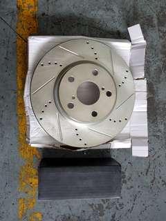 Lexus IS250 front disc brake & pad