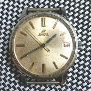 英納格古董上鏈錶,較到針,上唔到鏈唔行,當零件賣,35mm不連錶的,淨頭$250,有意請pm