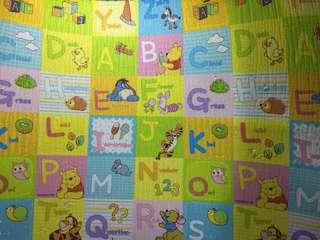 Parklon Playmat whit Alphabet Disneyland