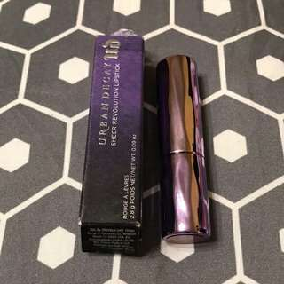 Urdan decay Revolution Lipstick