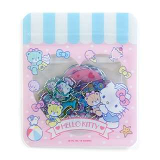 Japan Sanrio Hello Kitty Summer Seal (Clear)