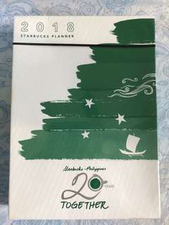 Starbucks 2018 Planner Small