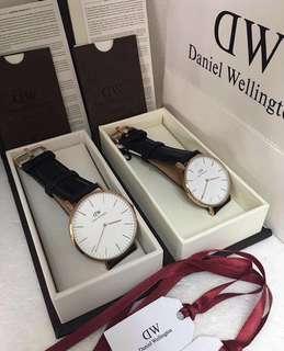 Daniel Wellington Couple set Watch (warranty 1 year)