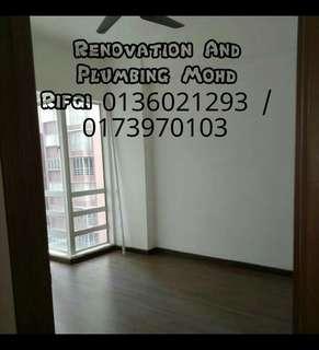 Renovtion and plumbing mohd rifqi 0136021293 area taman melati