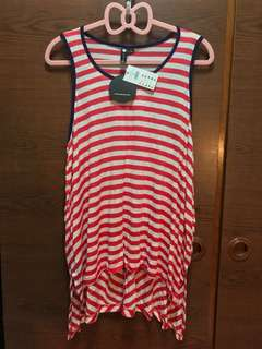 PL: Cotton On Striped Tunic Top