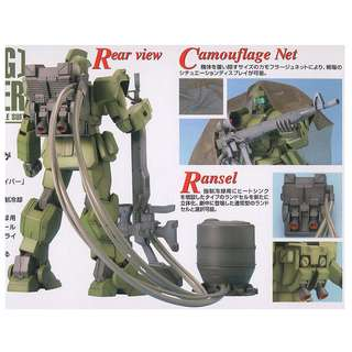 BANDAI GUNDAM 機動戰士 MG 1/100 高達 模型 玩具  0079  吉 狙擊槍