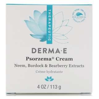 Derma E, Psorzema Cream, 4 oz (113 g)