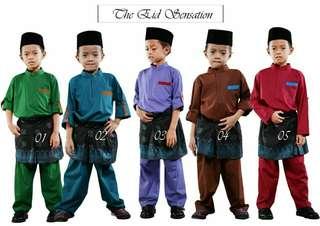 Baju Melayu Eid Sensation (Kid)