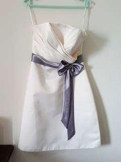 White Short Dinner Dress (Rent)