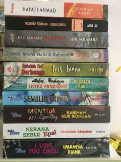 Malay Novel in Mint Condition Up for Grabs