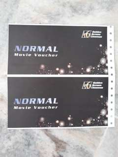GSC Movie Vouchers x2