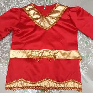 Baju Adat Padang Minangkabao Set Anak