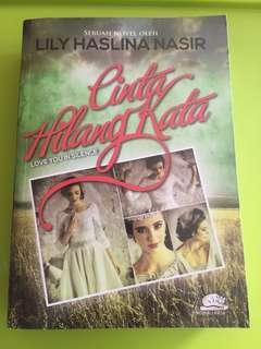 BN Malay Novel - Cinta Hilang Kata (Lily Haslina Nasir)