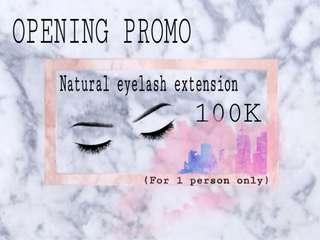Eyelash extension @beautywithus.studio