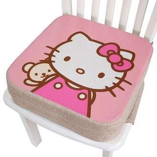 Kids cushion seat junior chair pink