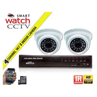 CCTV Package 720P HD with 500GB Storage(D027W HD Camera)