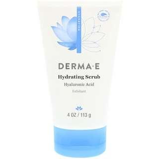 Derma E, Hydrating Scrub with Hyaluronic Acid, 4 oz (113 g)